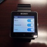 New Alarm app, Timer app in SmartWatch 2 1.0.B.3.46/1.0.A.3.8 firmware update