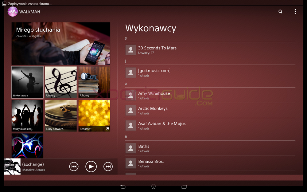 Xperia Tablet Z Android 4.3 10.4.B.0.569 firmware update - Walkman