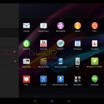 Xperia Tablet Z Android 4.3 10.4.B.0.569 firmware update - Launcher