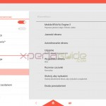 Xperia Tablet Z Android 4.3 10.4.B.0.569 firmware update - Settings