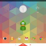 Triflat theme on Xperia Tablet Z Wi-Fi Android 4.3 10.4.B.0.577 firmware update