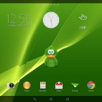Green theme on Xperia Tablet Z Wi-Fi Android 4.3 10.4.B.0.577 firmware update