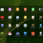 New Xperia Home launcher on Xperia Tablet Z Wi-Fi Android 4.3 10.4.B.0.577 firmware update