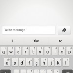 New keyboard app.