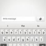 New keyboard app.