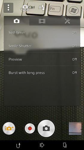 New Camera app in Xperia Z Android 4.3 10.4.B.0.569 firmware