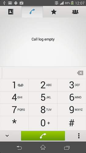 Call App in Android 4.3 10.4.B.0.569 firmware