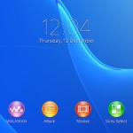 New themes and wallpapers just like Xperia Z1.