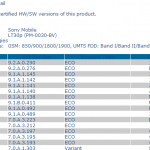 Xperia T and Xperia V new Android 4.3 9.2.A.0.290 firmware certified