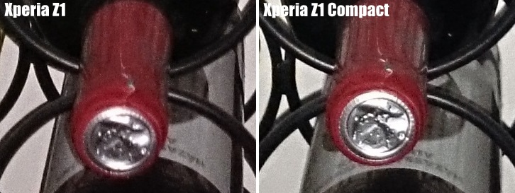 Xperia Z1 vs Xperia Z1 Compact Camera Comparison