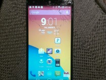 Google Nexus 5 Screen Cracked