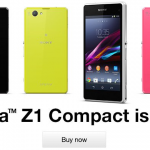SIM free Xperia Z1 Compact shipping starts in UK, priced at £449 – Black Xperia Z1 Compact goes out of Stock within 24 hours of listing