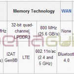 Snapdragon SoC Wikipedia page lists Xperia Z2 Sirius under Snapdragon 805 and 800 chipsets