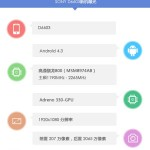 Sony D6603 Specifications Leaked by AnTuTu – Snpadragon 800, 2 GB RAM, 1080p Display