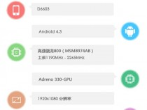 Sony D6603 Specifications Revealed by AnTuTu Benchmark Results