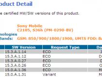 Xperia L 15.3.A.1.14 firmware certified