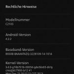 Xperia L 15.3.A.1.14 firmware update rolling – Camera Improved
