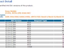 Xperia SP 12.1.A.0.266 firmware