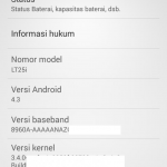 Xperia V LT25i Android 4.3 9.2.A.1.131 firmware ROM Leaked – Install on Unlocked Bootloader devices