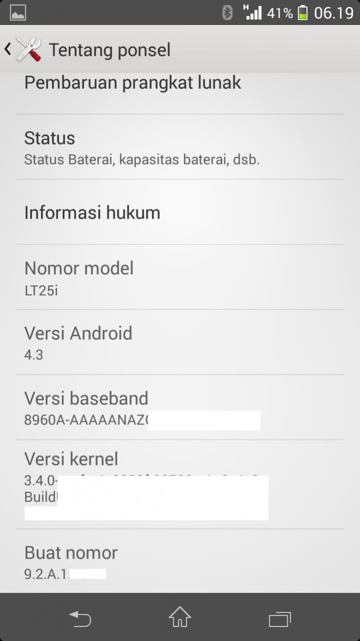 Xperia V LT25i Android 4.3 9.2.A.1.131 firmware ROM Leaked - Install on Unlocked Bootloader devices