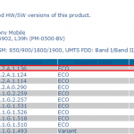 14.2.A.1.136 firmware certified for Xperia Z1 Compact, Z1 and Z Ultra
