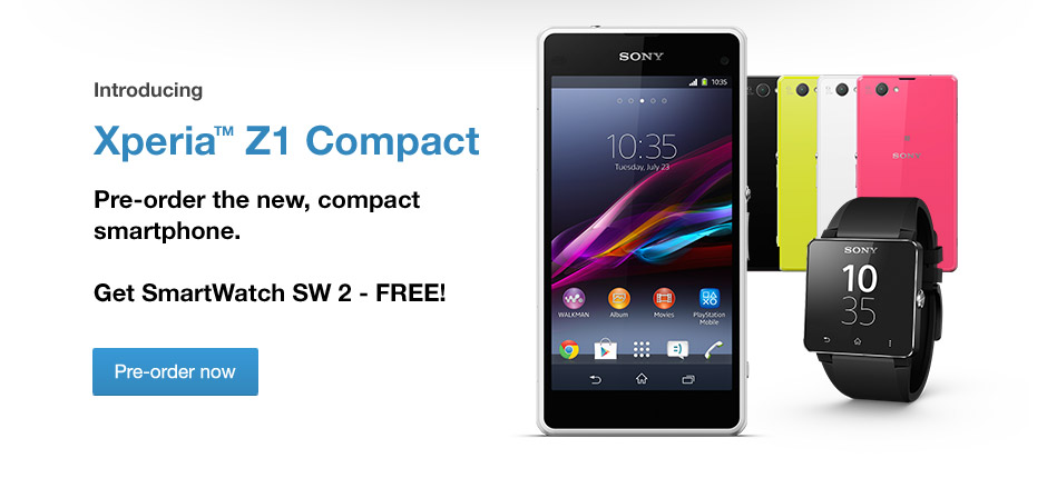 Xperia Z1 Compact aka Xperia Z1C Priced in Europe