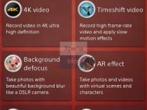 4k Video Recording in Sony D6503