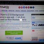 Xperia Z1S Background Defocus camera app - How to focus on photos