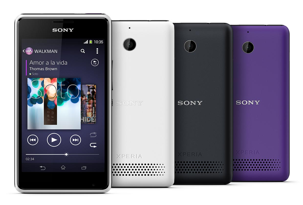 Xperia E1 and Xperia E1Dual launched with Snapdragon 200 Processor