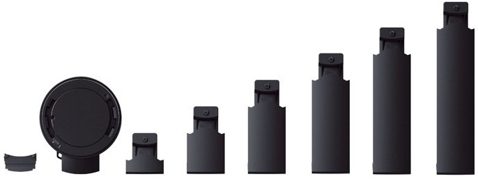 Arms Sizes of Sony SPA-TA1 tablet attachment case