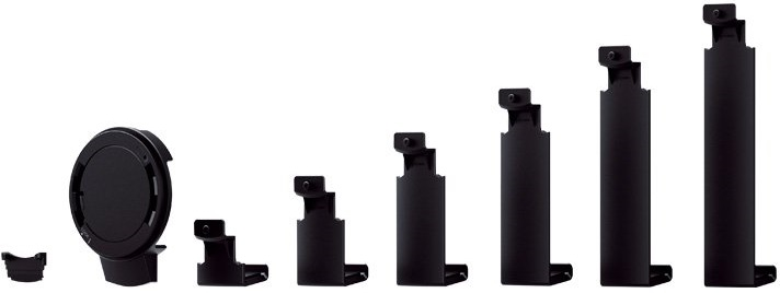 6 Arms Sizes of Sony SPA-TA1 tablet attachment case