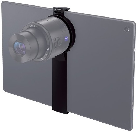 SPA-TA1 tablet attachment case mounted on Xperia Tablet Z