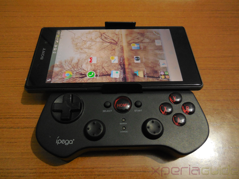 ipega wireless Bluetooth controller for Xperia Z1