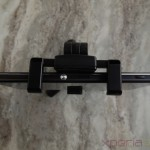 Top view of Sony Smartphone Tripod SPA-MK20M with Xperia Z1