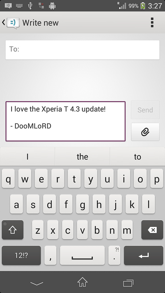 ta15Xperia T LT30p Android 4.3 9.2.A.0.278 firmware - New Message App