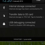Xperia SP android 4.3 12.1.A.0.256 firmware - Quick Settings