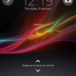 Xperia SP android 4.3 12.1.A.0.256 firmware - Lock Screen Widgets