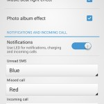Xperia SP android 4.3 12.1.A.0.256 firmware - New Light Notification Settings