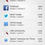 Xperia SP Android 4.3 12.1.A.0.256 firmware - 839 MB of RAM Available