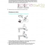 Sony Magnetic Charging Dock DK36 Leaked in Sony Official User Guide – Is it for Xperia Z2 ?