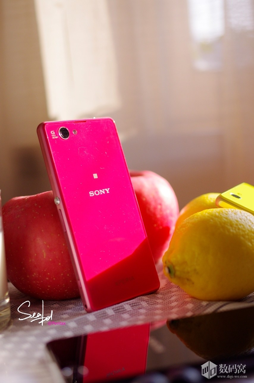 Xperia Z1 Compact in Pink color
