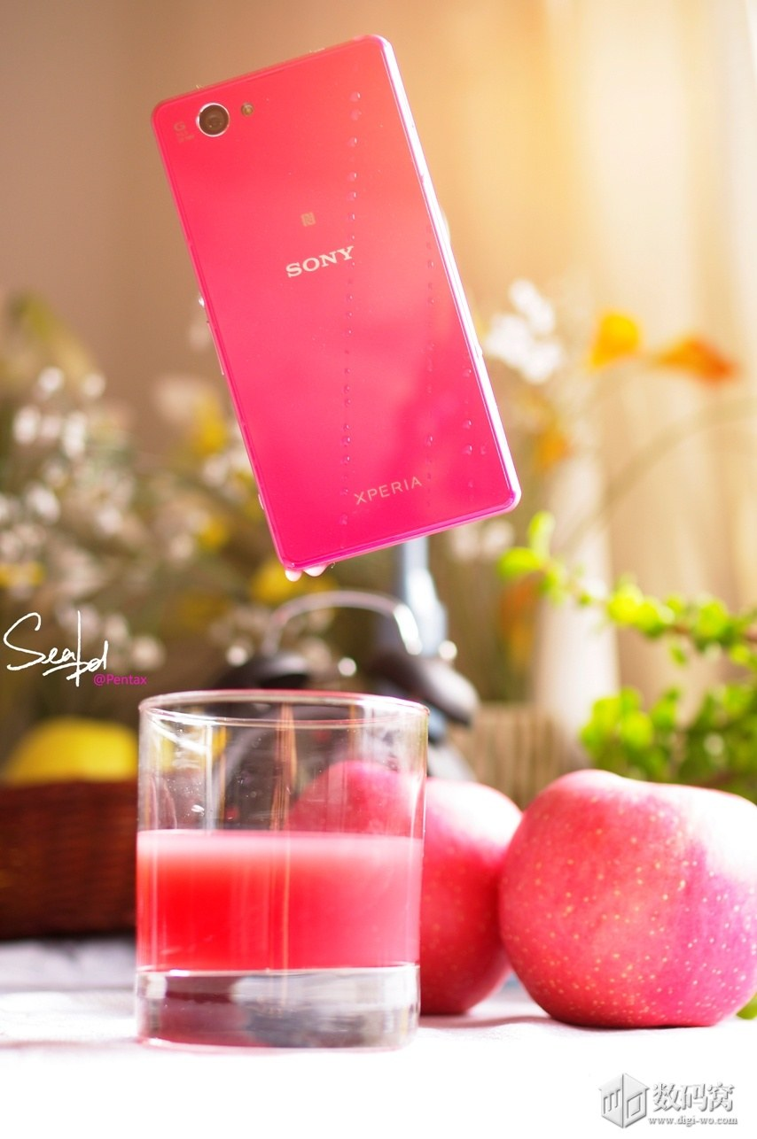Xperia Z1 Compact in Pink