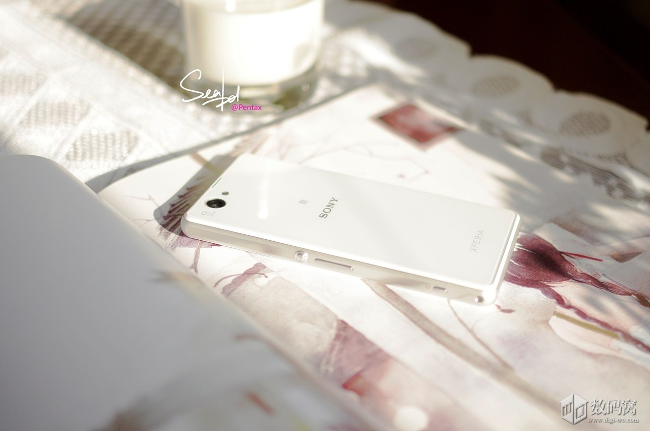 Xperia Z1 Compact Colorful in Elegant White
