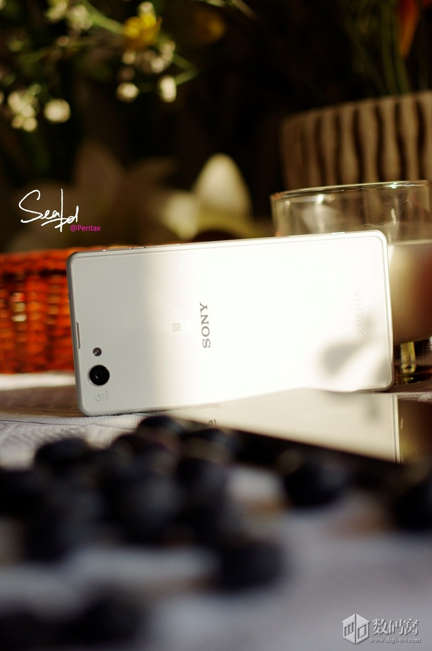 Xperia Z1 Compact Colorful in White color
