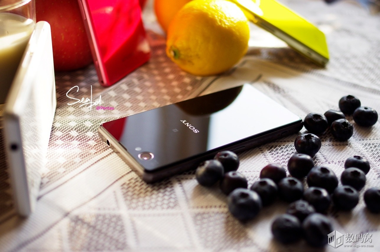 Xperia Z1 Compact Colorful in Sexy Black