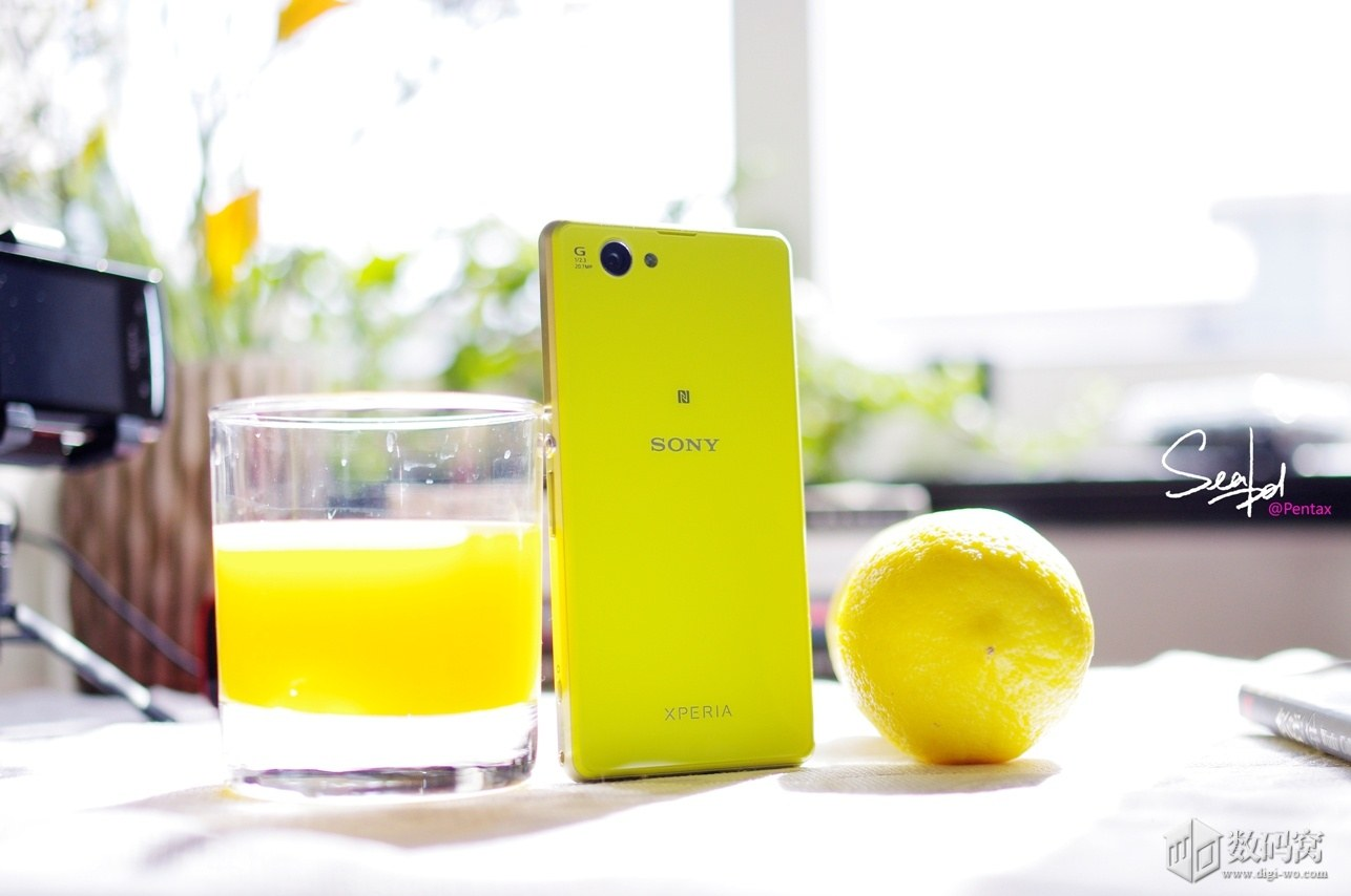 Xperia Z1 Compact in Yellow