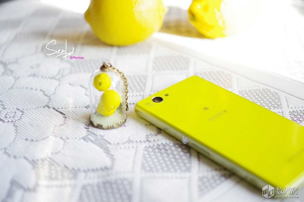 Sony Xperia Z1 Compact in Yellow color