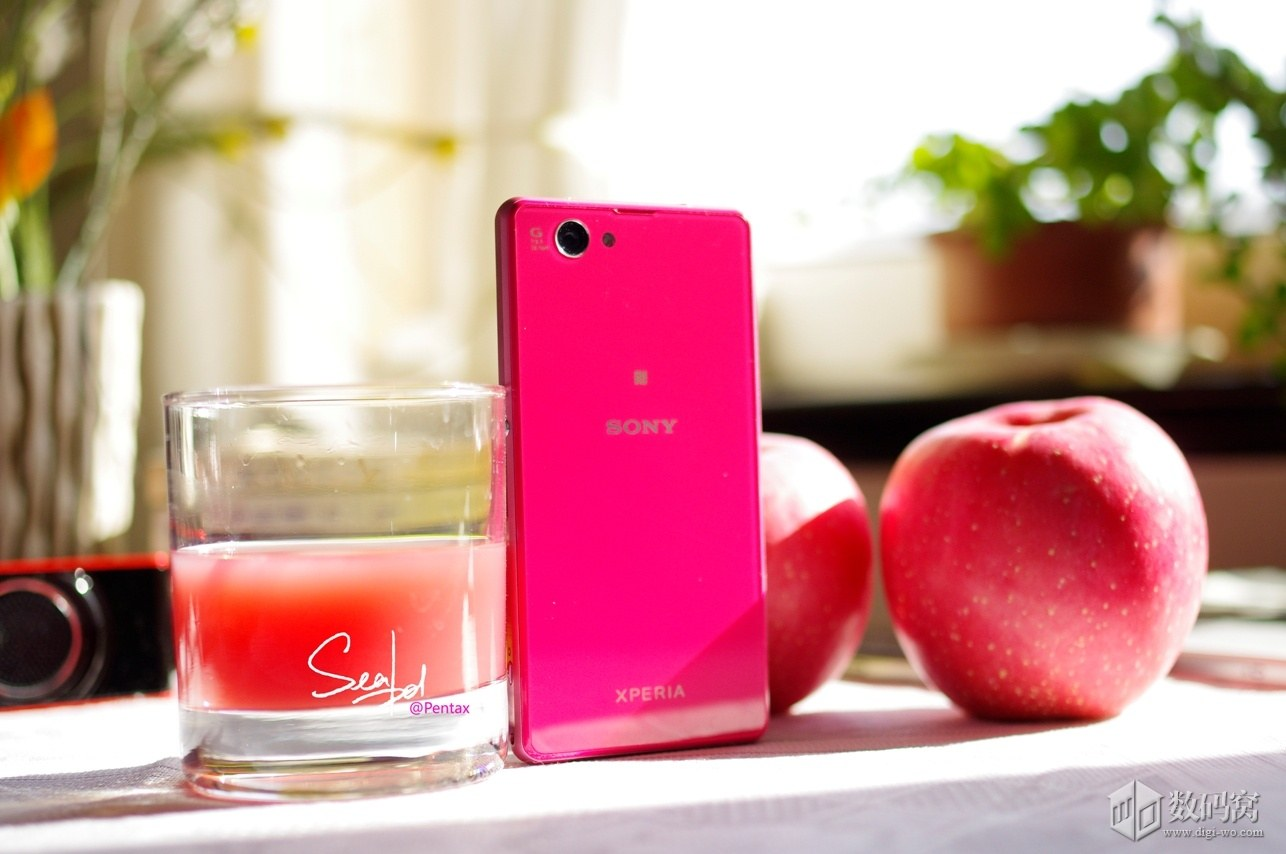 Sony Xperia Z1C in Pink color
