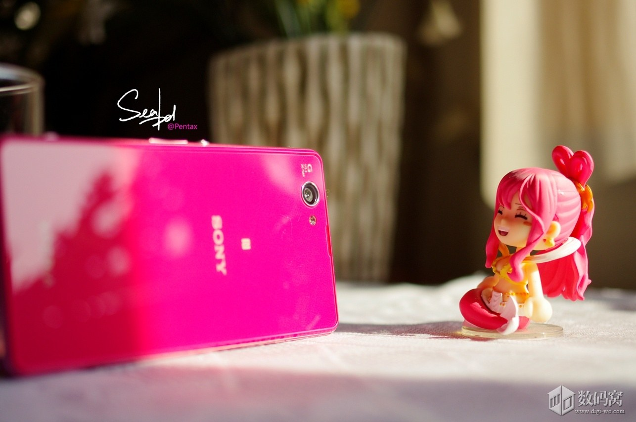 Sony Xperia Z1 Compact in Pink color
