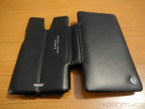 Xperia ZR Leather Flip Case from Noreve